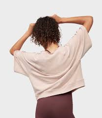 Manduka Resolution Raglan Pullover- Bark
