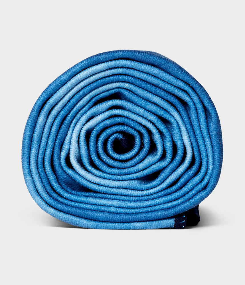 Manduka Equa® Non-slip Quick Dry Absorbent Yoga Towel for Yoga, Gym, Pilates, Outdoor Fitness Manduka eQua Yoga Mat Towel - Camo Navy TD