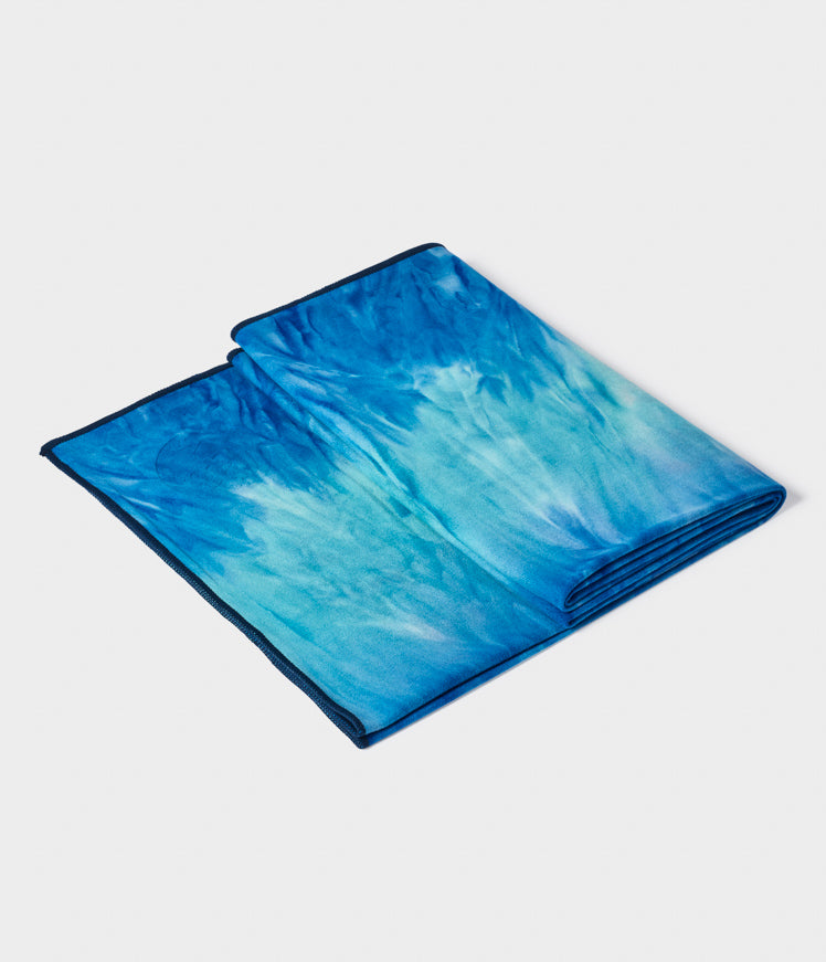 Manduka eQua Mat Towel - Pacific Blue HD