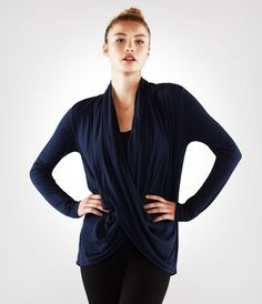 Manduka Long Sleeve Twist Front Top