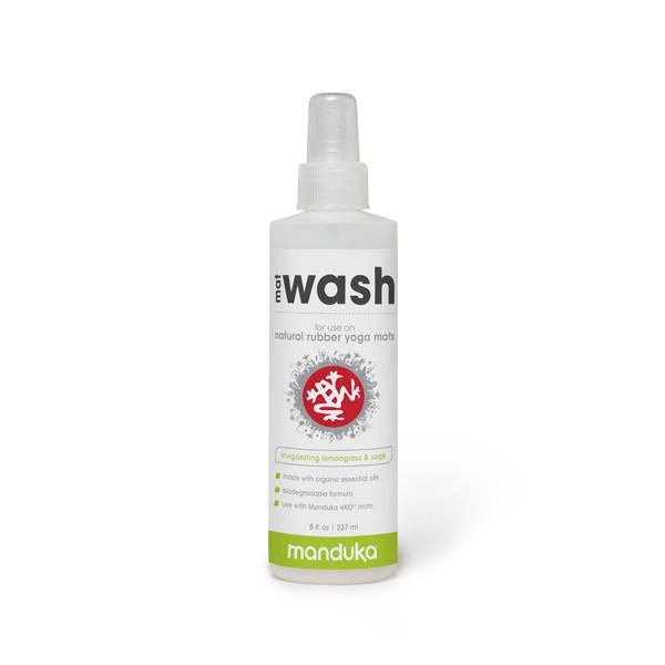 Manduka Mat Wash - Lemongrass - Natural Rubber Mats - 8 OZ - Wash Spray ( Pre-Order/Restock 7 JUNE 2021 )