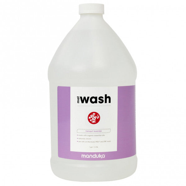 Manduka Mat Wash - Lavender - All Purpose Mats - 1 GAL – Refill