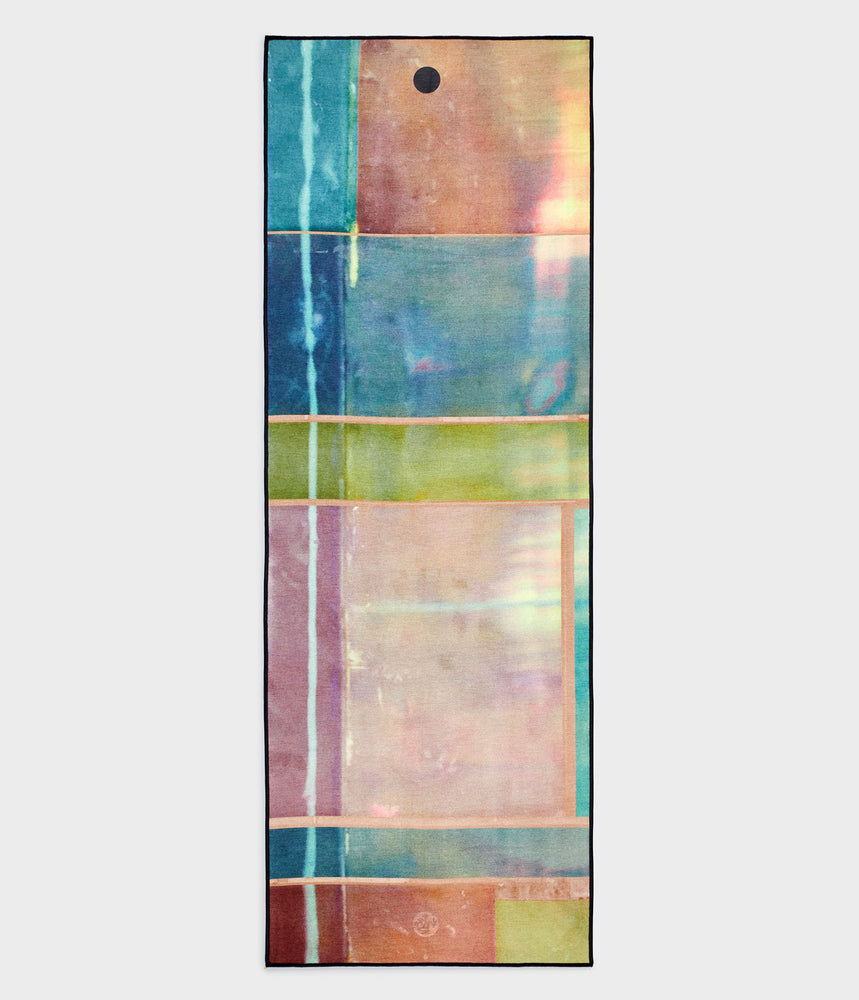Manduka Yogitoes Towel - Stained Glass 2.0