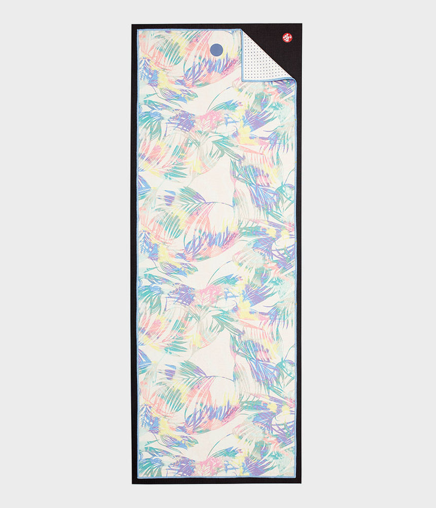Manduka Yogitoes Skidless Yoga Mat Towel - Tropic Multi 2.0