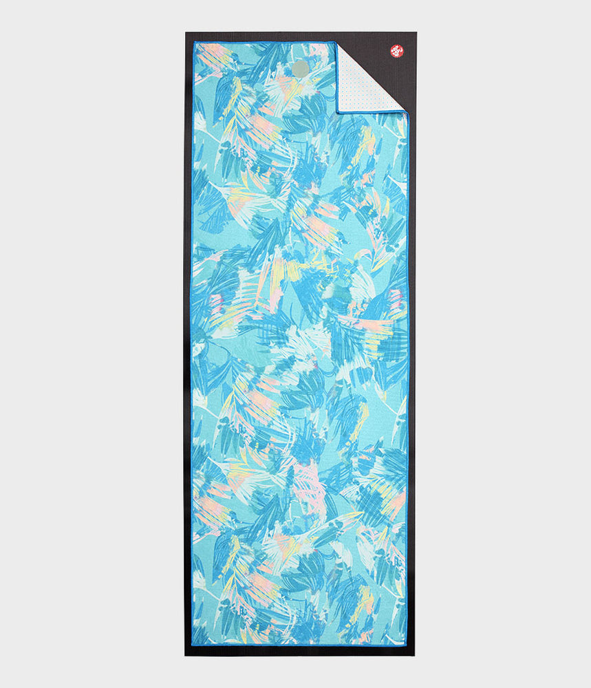 Manduka Yogitoes Towel - Tropic Blue 2.0