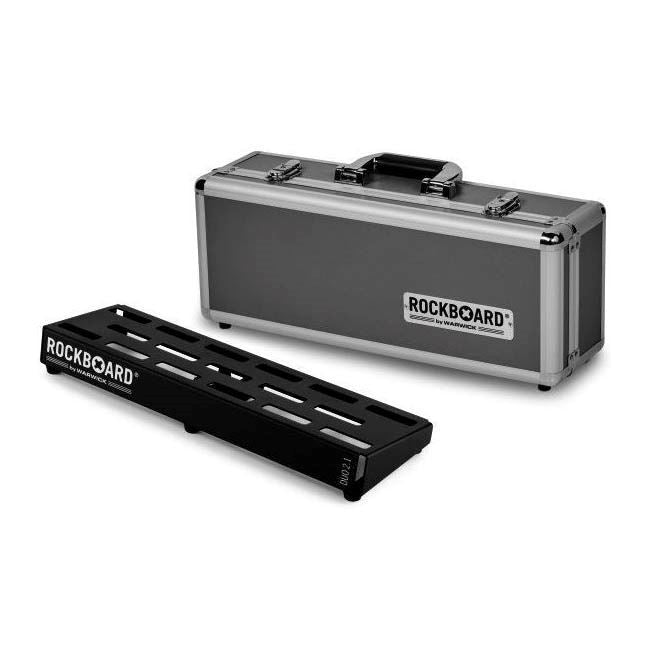 WARWICK ROCKBOARD DUO 2.1 IN FLIGHT CASE