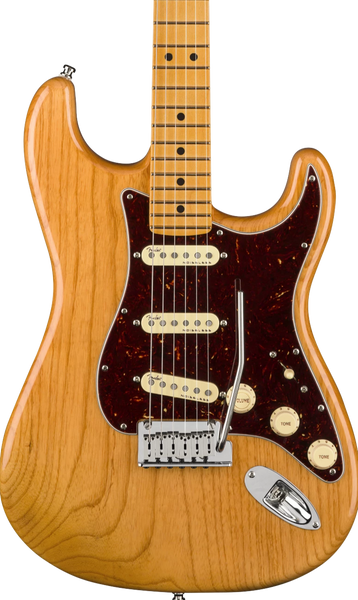 FENDER AMERICAN ULTRA STRAT - MAPLE FRETBOARD AGED NATURAL
