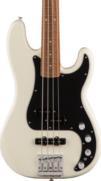 FENDER DELUXE ACTIVE PRECISION BASS SPECIAL - OLYMPIC WHITE