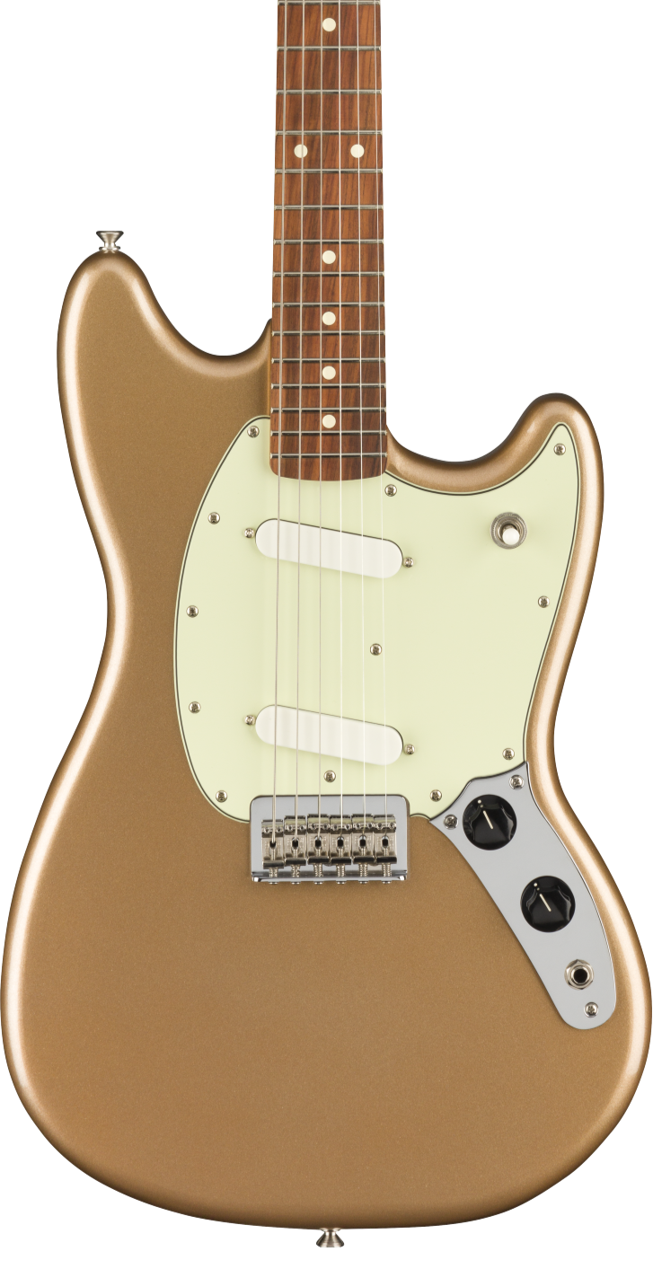 FENDER PLAYER MUSTANG PAU FERRO FB - FIREMIST GOLD