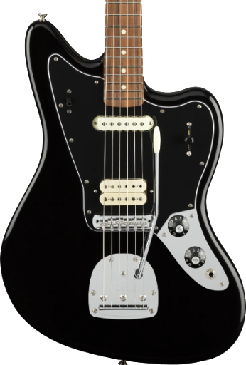 FENDER PLAYER JAGUAR PAU FERRO BLACK