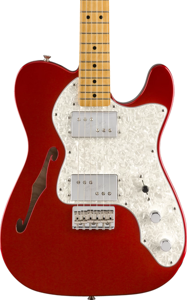 FENDER VINTERA SERIES - 70'S TELE THINLINE MN CANDY APPLE RED