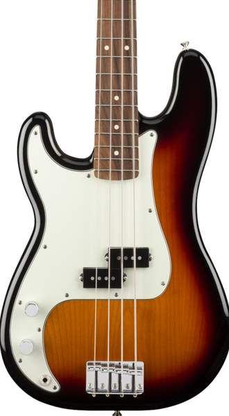 FENDER PLAYER SERIES P BASS - 3-TONE SUNBURST LEFT-HANDED