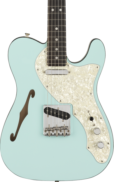 FENDER LIMITED EDITION 2-TONE TELE THINLINE - DAPHNE BLUE