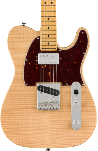 FENDER RARITIES - FLAME MAPLE TOP CHAMBERED TELECASTER