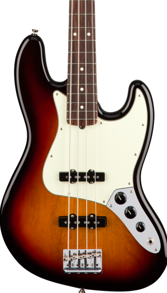 FENDER AMERICAN PROFESSIONAL JAZZ BASS RW - 3-COLOUR SUNBURST