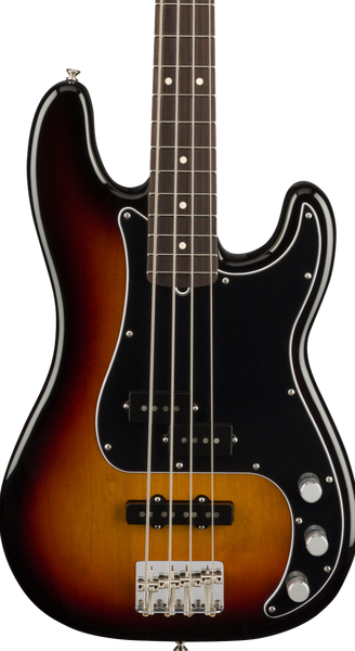 FENDER AMERICAN PERFORMER PRECISION BASS RW - 3 COLOUR SUNBURST