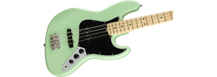FENDER AMERICAN PERFORMER JAZZ BASS - MN SATIN SURF GREEN