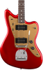 SQUIER DELUXE JAZZMASTER w/ TREMOLO - RW CANDY APPLE RED