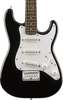 SQUIER MINI STRAT 3/4 ELECTRIC - BLACK