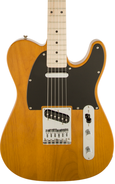 SQUIER AFFINITY SERIES TELECASTER - MN BUTTERSCOTCH BLONDE