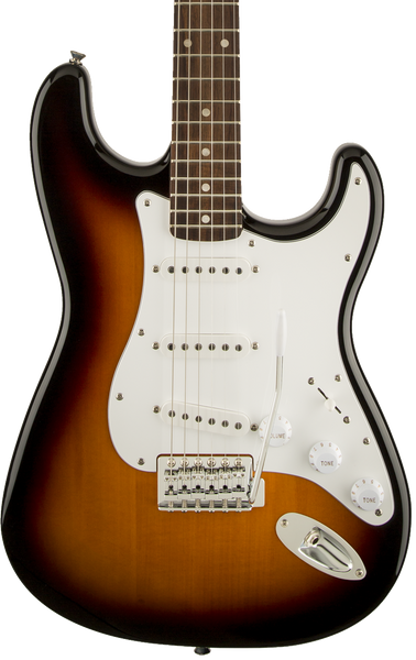 SQUIER AFFINITY SERIES STRATOCASTER PF - BROWN SUNBURST