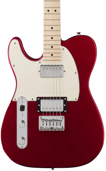 SQUIER  CONTEMPORARY TELECASTER® HH LEFT HANDED METALLIC RED