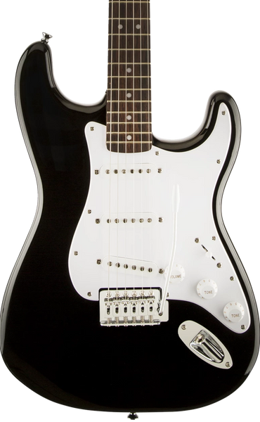 SQUIER BULLET STRAT - LAUREL FINGERBOARD WITH TREMOLO BLACK
