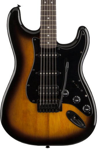 SQUIER BULLET STRAT - LAUREL FINGERBOARD FSR 2 COLOUR SUNBURST