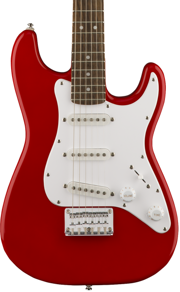 SQUIER MINI STRAT 3/4 ELECTRIC - TORINO RED