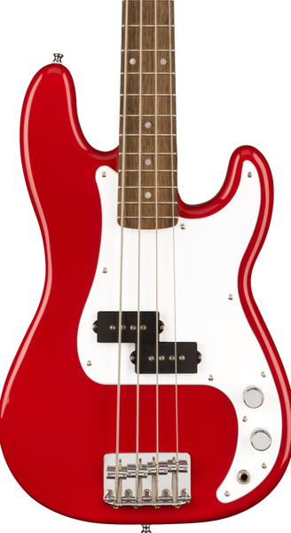 SQUIER MINI PRECISION BASS - DAKOTA  RED
