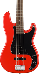 SQUIER AFFINITY SERIES PJ BASS - RACE RED