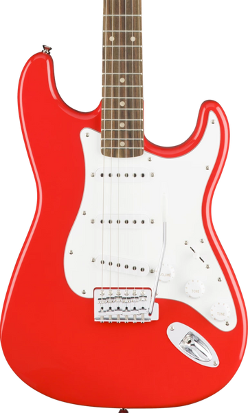 SQUIER AFFINITY SERIES STRAT - LAUREL FB RACE CAR RED