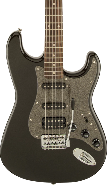 SQUIER AFFINITY SERIES STRAT - HSS LAUREL FB MONTEGO BLACK METALLIC