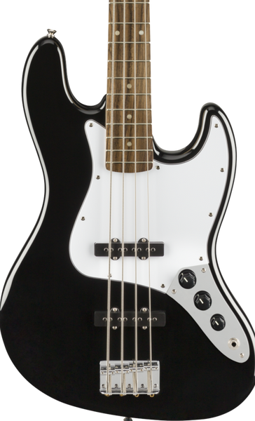 SQUIER AFFINITY SERIES JAZZ BASS LAUREL FB - BLACK