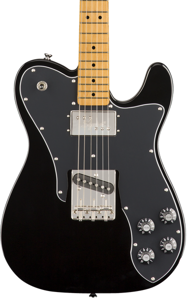 SQUIER CLASSIC VIBE 70'S CUSTOM TELE MAPLE FINGERBOARD BLACK