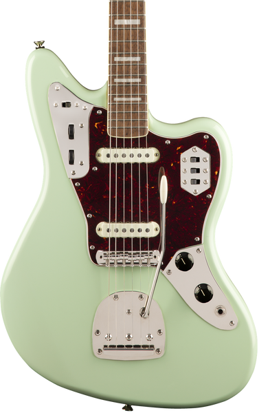 SQUIER CLASSIC VIBE 70'S JAGUAR - LAUREL FINGERBOARD SURF GREEN