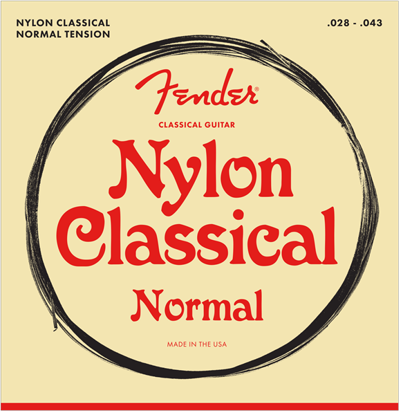 FENDER CLASSICAL/NYLON STRINGS NORMAL TENSION - TIE END
