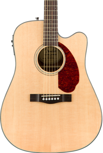 FENDER CD-140SCE - DREADNOUGHT NATURAL WITH CASE