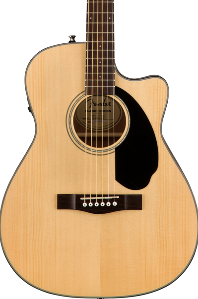 FENDER CC-60SCE - SOLID TOP CONCERT NATURAL