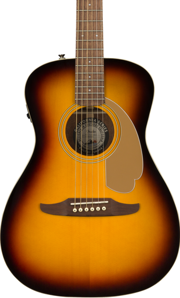 FENDER MALIBU PLAYER ACOUSTIC - 3-COLOUR SUNBURST