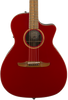 FENDER NEWPORTER CLASSIC - ALL SOLID HOT ROD RED METALLIC