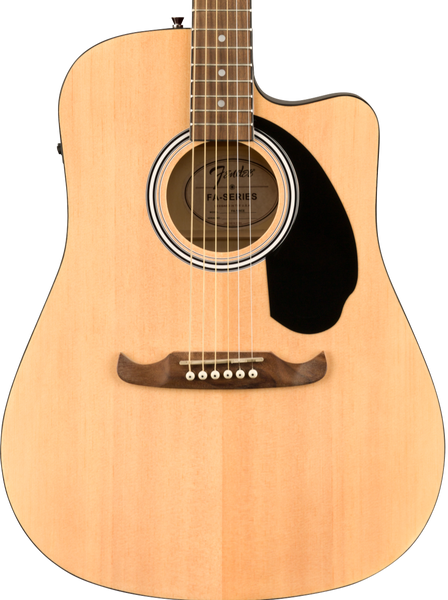 FENDER FA-125CE DREADNOUGHT, WALNUT FINGERBOARD