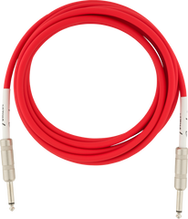 FENDER ORIGINAL SERIES INSTRUMENT CABLE 10FT - FIESTA RED