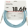 FENDER ORIGINAL SERIES INSTRUMENT CABLE 18.6FT - RED/BLUE/GREEN