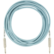 FENDER ORIGINAL SERIES INSTRUMENT CABLE 18.6FT - DAPHNE BLUE