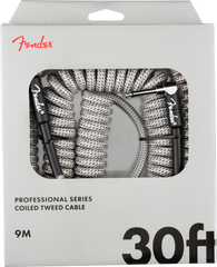 FENDER PRO COIL CABLE 30' WHITE TWEED