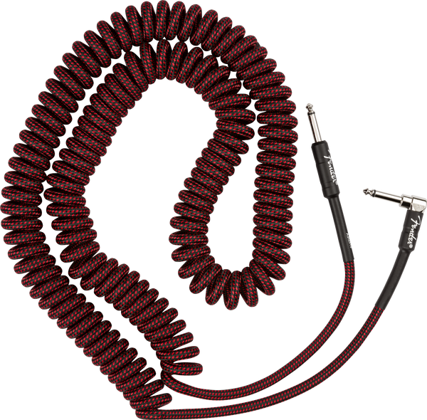 FENDER PRO COIL CABLE 30' RED TWEED