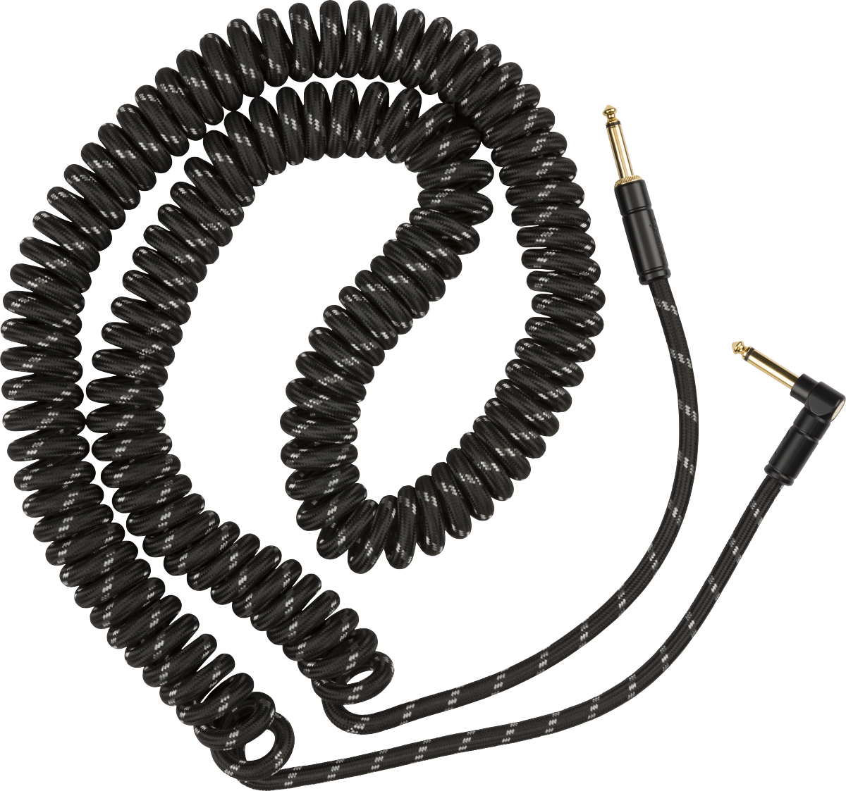 FENDER PRO COIL CABLE 30' BLACK TWEED