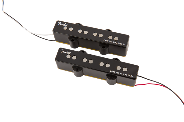FENDER GEN4 NOISELESS JAZZ BASS PICKUPS BLACK
