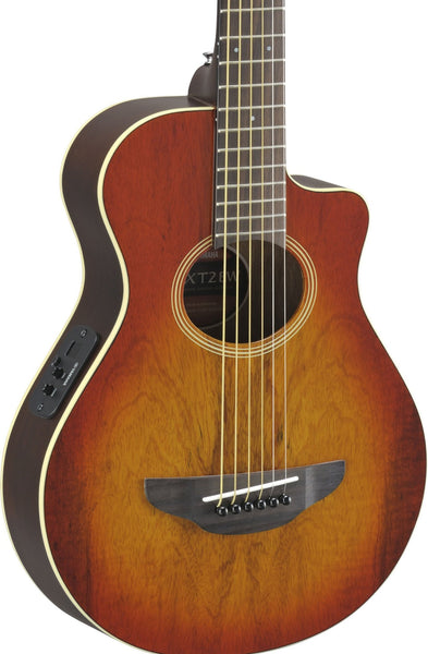 YAMAHA APXT2EW - TRAVEL ACOUSTIC GUITAR EXOTIC WOOD LIGHT AMBER BURST